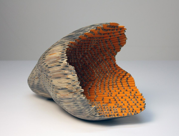 sculptures-pencils-Jessica-Drenk-1